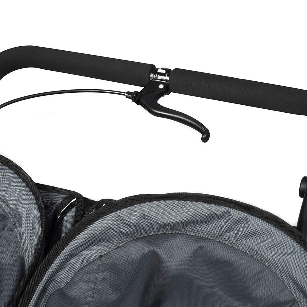 out 39 n 39 about nipper double sport v4 steel grey smart. Black Bedroom Furniture Sets. Home Design Ideas