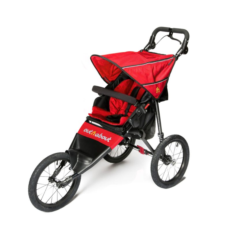 Out n About Nipper Sport V4 - Carnival Red