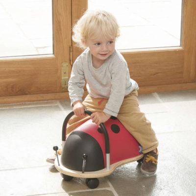 Wheelybug Ride-on - Ladybird (small)