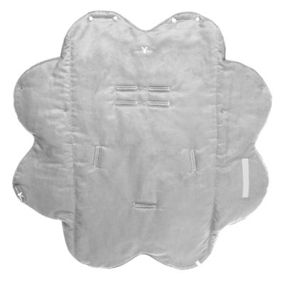 Wallaboo Grey Fleece Wrap