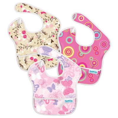 Hippychick Bumkins Super Bib Packs - Pink