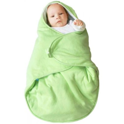 Wallaboo Baby Blanket Coco - Lily Green