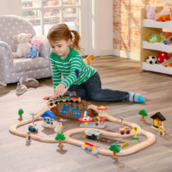Bucket Top Mountain Train Set kidkraft 2