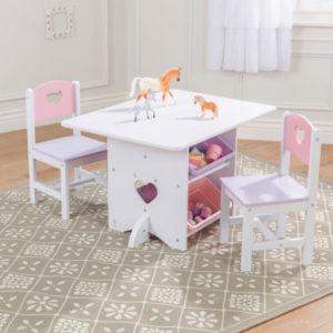 KidKraft Heart Table & Chair Set