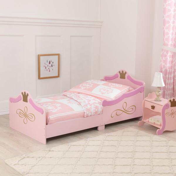 Mattress Brand Reviews >> Kidkraft Princess Toddler Bed - Smart Kid Store