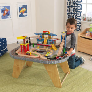 KidKraft Transportation Station Train Set and Table3