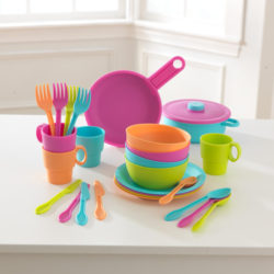 Kidkraft 27-Piece Bright Cookware Set