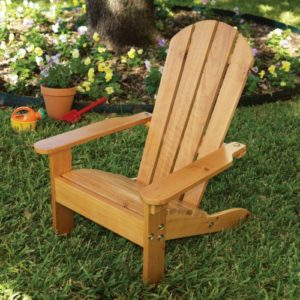 Kidkraft Adirondack Chair-Natural