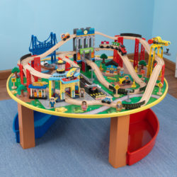 Kidkraft City Explorer's Train Set And Table