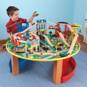 Kidkraft City Explorer's Train Set And Table2