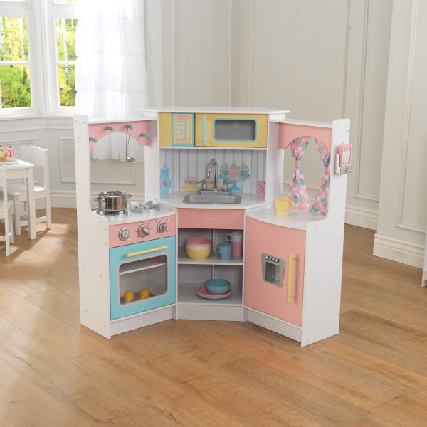 Kidkraft Corner Kitchen: Kidkraft Deluxe Corner Play Kitchen