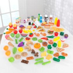 Kidkraft Deluxe Tasty Treat Pretend Play Food Set