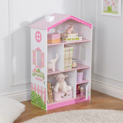 Kidkraft Dollhouse Cottage Bookcase1