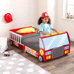Kidkraft Fire Truck Toddler Bed1