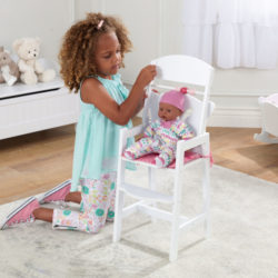 Kidkraft Lil' Doll High Chair3