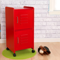 Kidkraft Medium Locker - red