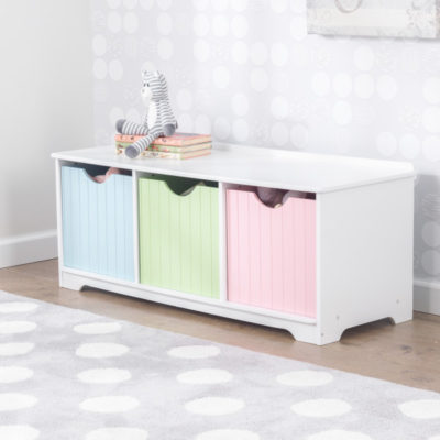 Kidkraft Pastel Nantucket Storage Bench