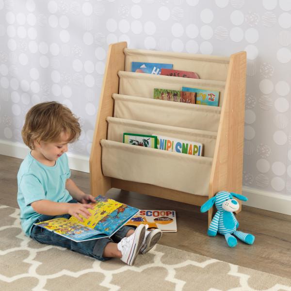 Kidkraft Natural Sling Bookshelf2