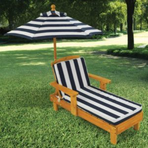 Kidkraft Outdoor Chaise with Umbrella