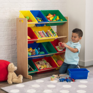Kidkraft Primary Storage Bin Unit12,1
