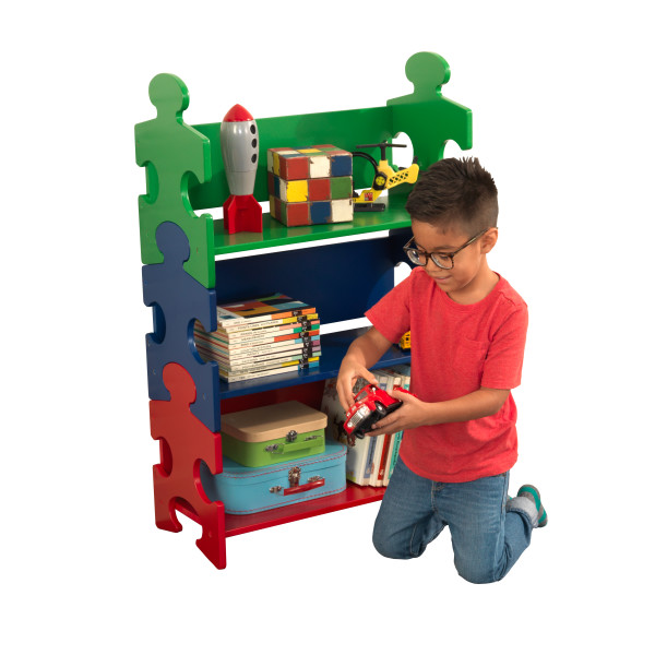 Kidkraft Puzzle Bookshelf Primary
