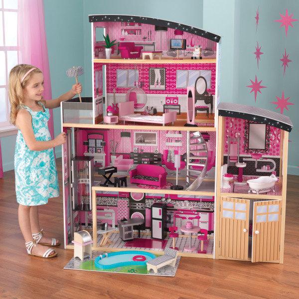 Kidkraft Sparkle Mansion Dollhouse2