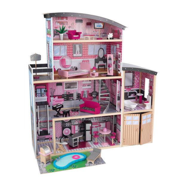 Kidkraft Sparkle Mansion Dollhouse3