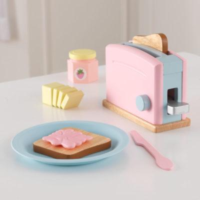 KKidKraft Pastel Toaster Set