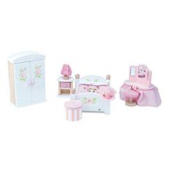 Le Toy Van Doll House Daisylane Master Bedroom
