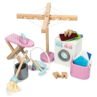 Le Toy Van Doll House Laundry Room Set