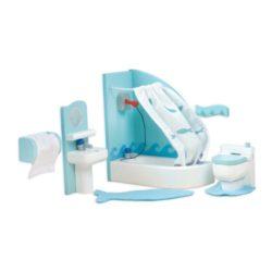 Le Toy Van Doll House Sugar Plum Bathroom Set