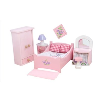 Le Toy Van Doll House Sugar Plum Bedroom Set
