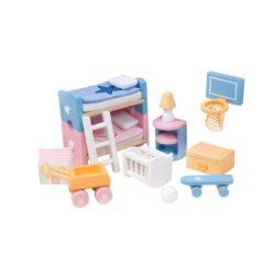 Le Toy Van Doll House Sugar Plum Childrens Room Set