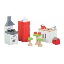 Le Toy Van Doll House Sugar Plum Kitchen Set