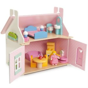Le Toy Van Lily's Cottage (with furniture) 2