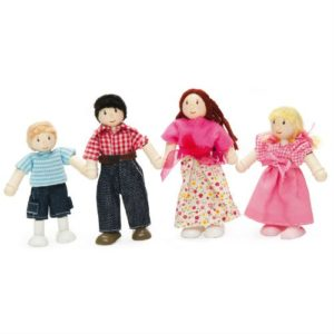Le Toy Van My Family of 4 Dolls