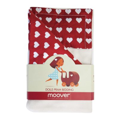 Moover Pram Bedding Set Red