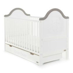 Obaby B is for Bear 3 Piece Room Set - White with Grey Trim 2