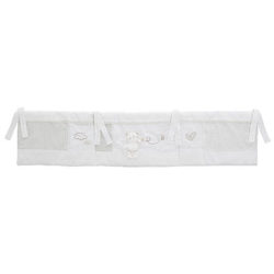 Obaby B is for Bear Hooded 3 Piece Crib Set - White 2