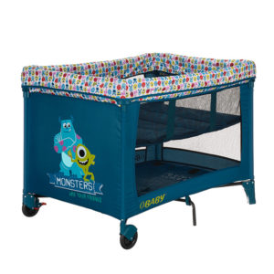 Obaby Disney Bassinette Travel Cot - Monsters Inc.