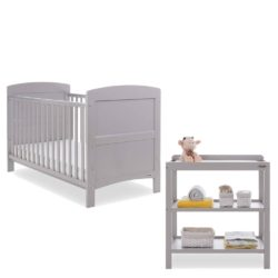 Obaby Grace 2 Piece Room Set - Warm Grey