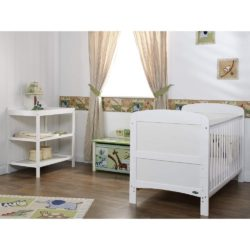 Obaby Grace 2 Piece Room Set - White