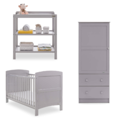 Obaby Grace 3 Piece Room Set - Warm Grey 4