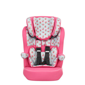 Obaby Group 1-2-3 High Back Booster - Cottage Rose 2
