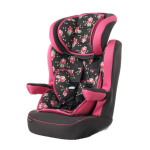 Obaby Group 1-2-3 High Back Booster - Grey Rose