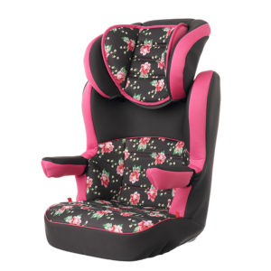 Obaby Group 2-3 High Back Booster - Grey Rose