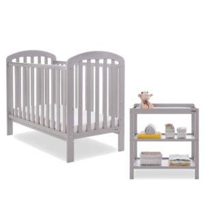 Obaby Lily 2 Piece Room Set - Warm Grey