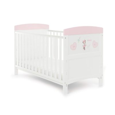 Obaby Minnie Mouse 2 Piece Room Set - Hearts 2