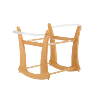 Obaby Rocking Moses Basket Stand - Country Pine
