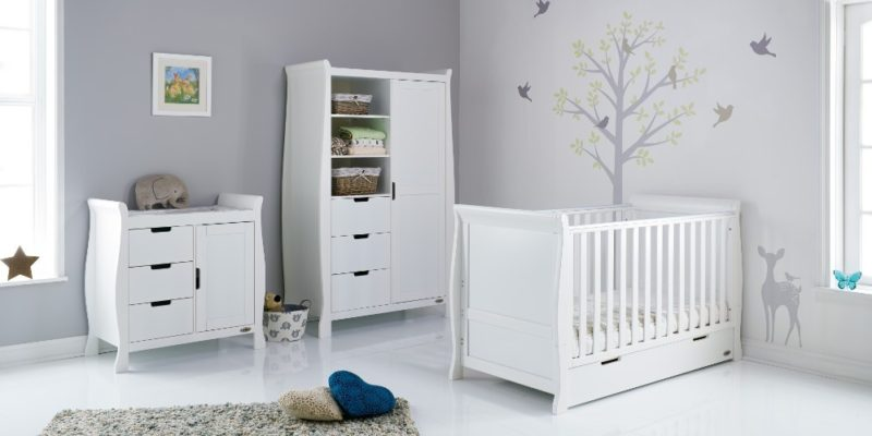 Obaby Stamford 3-Piece Nursery Room Set